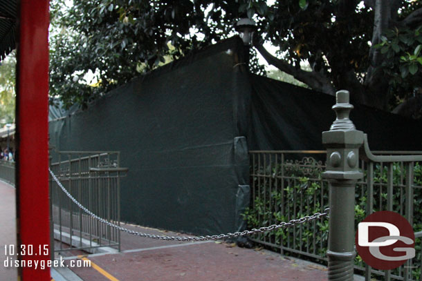 New Orleans Square - Temp Bridge