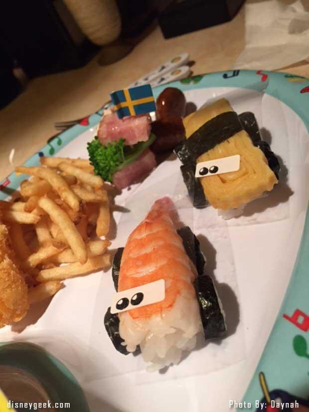 Cars kids meal
