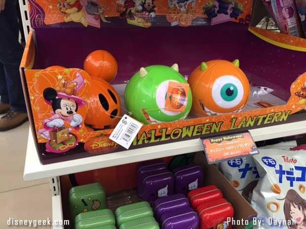 Disney Items in 7/11 in Osaka Japan