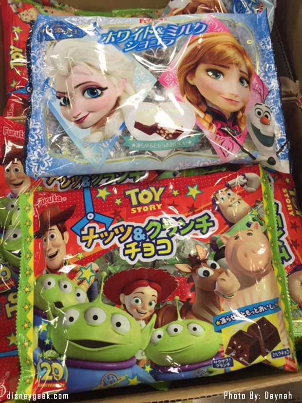 Disney Items in Donburi, Osaka Stores (@Daynah Discoveries)
