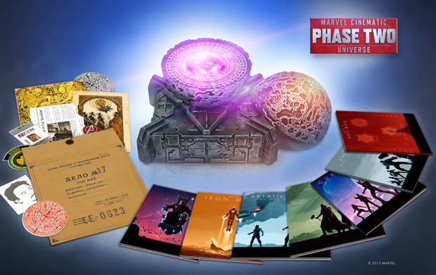 Marvel Cinematic Universe: Phase 2 – 13 disc Collector's Set Available 12/8 @ Amazon
