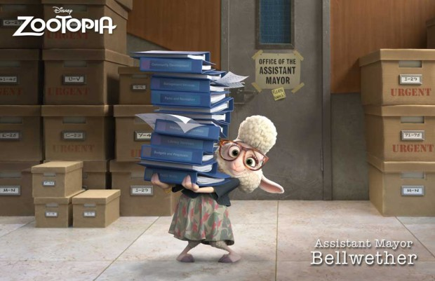 Zootopia - Zoot_Rollout_Bellwether_logo