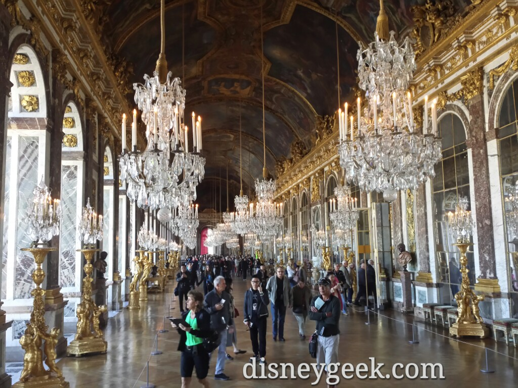 Hall of Mirrors – Chateau De #Versailles #Paris