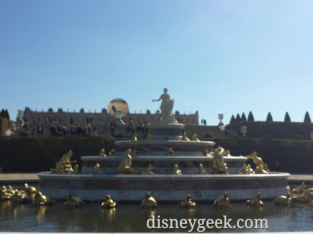 Latone Fountain – Chateau De #Versailles #Paris