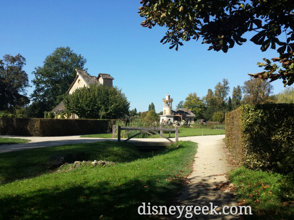 Approaching the Queen's Hamlet – Marie-Antoinette's Estate #Paris