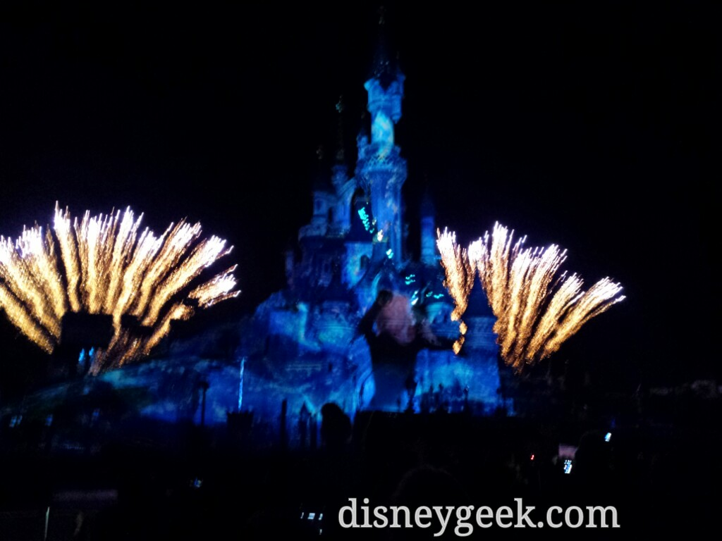 #DisneyDreams – #Frozen – #DisneylandParis
