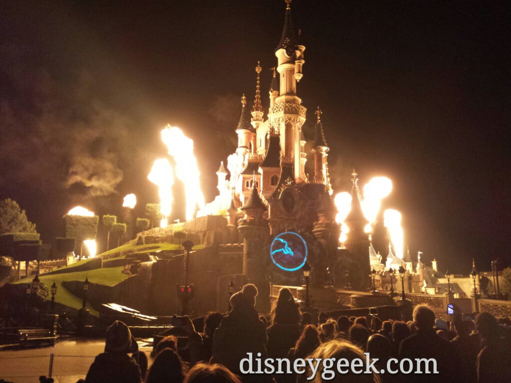 #DisneyDreams – Villains Fire – #DisneylandParis