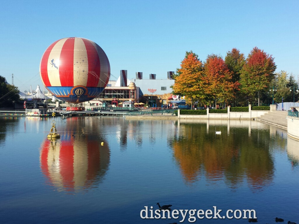 #DisneyVillage this morning as I head to #DisneylandParis