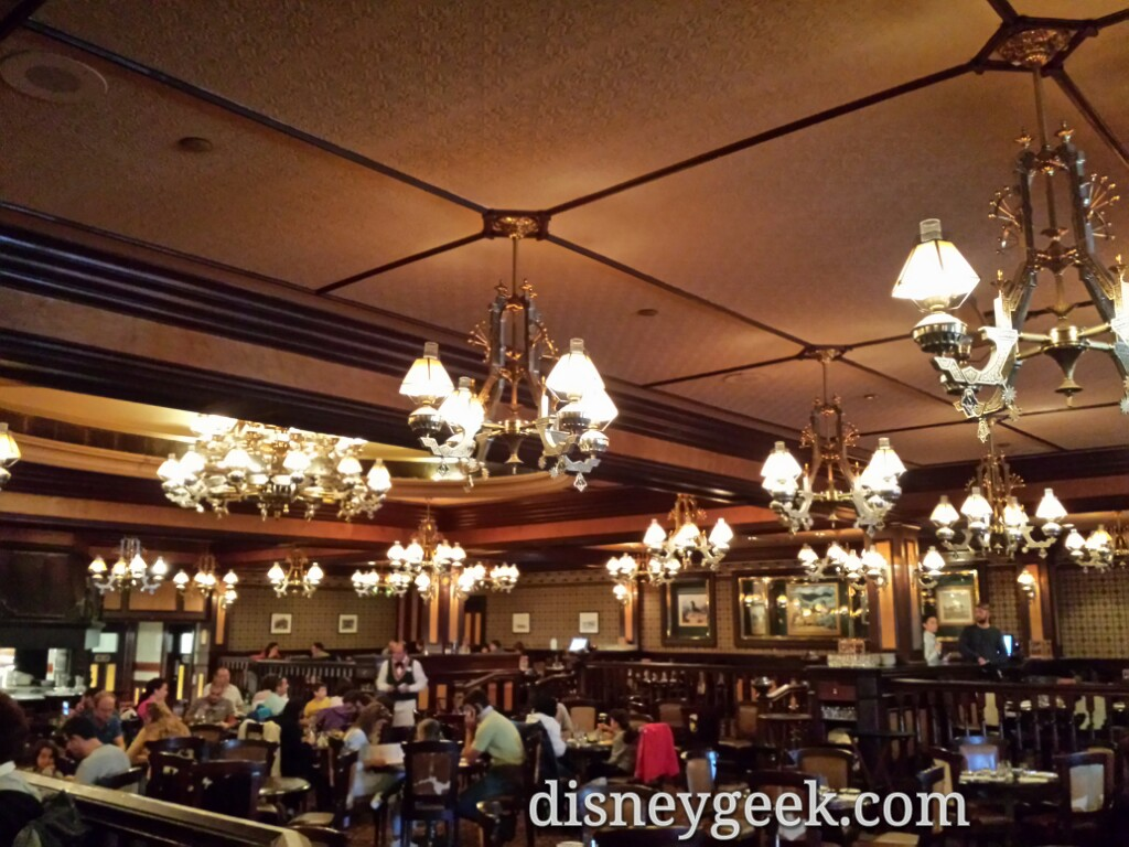 Inside the Silver Spur Steakhouse #DisneylandParis