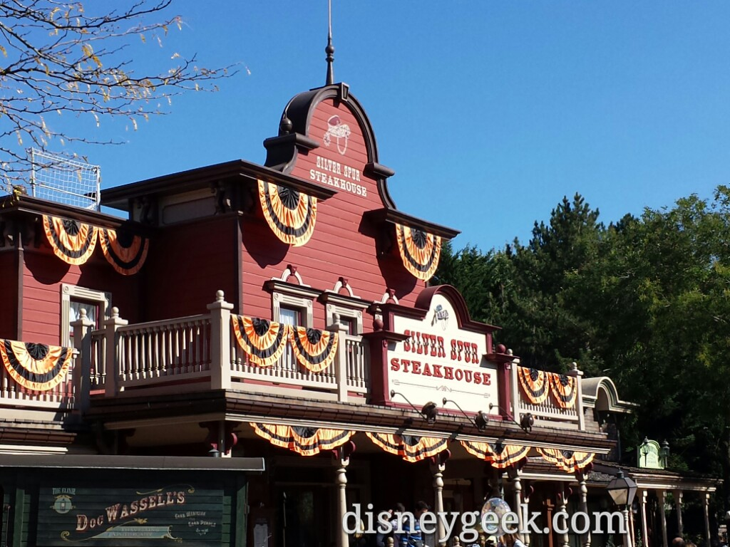 A late Lunch today at the Silver Spur Steakhouse in Frontierland #DisneylandParis