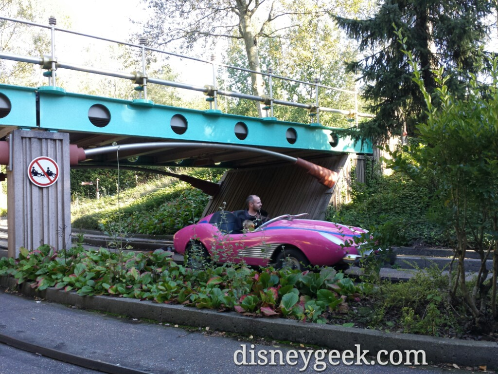 Autopia #DisneylandParis