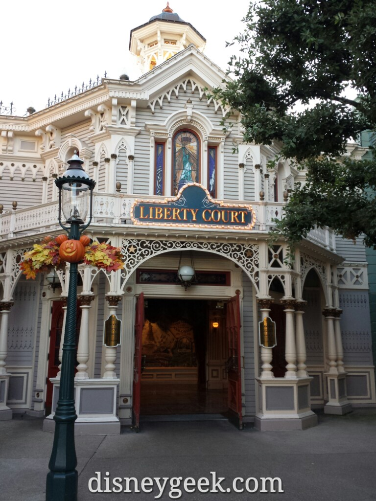 One of the Liberty Arcade entrances on Main Street USA #DisneylandParis
