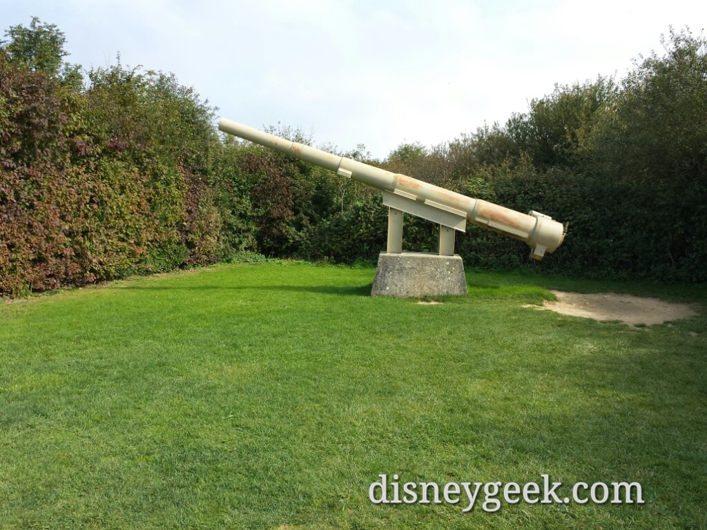 German 155mm gun at Pointe du Hoc