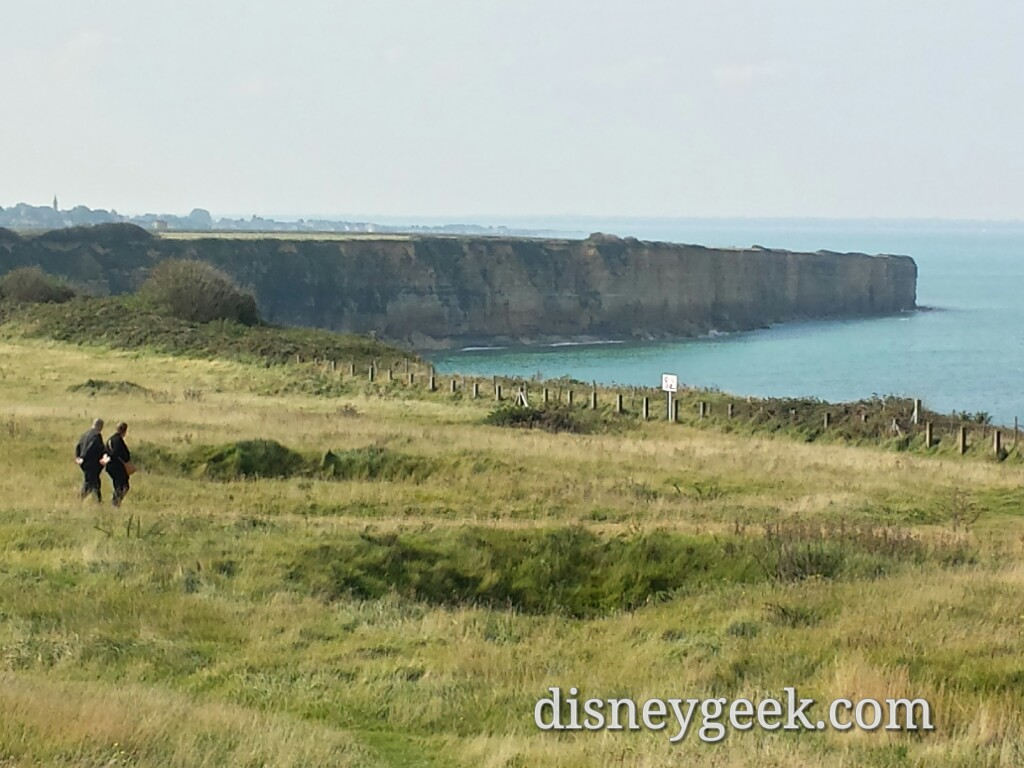 Looking toward Utah beach from Pointe du Hoc #France