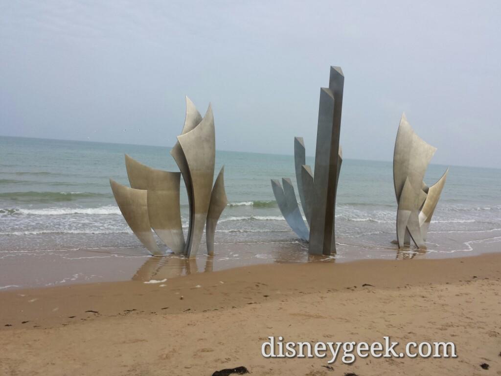 Omaha Beach memorial #France