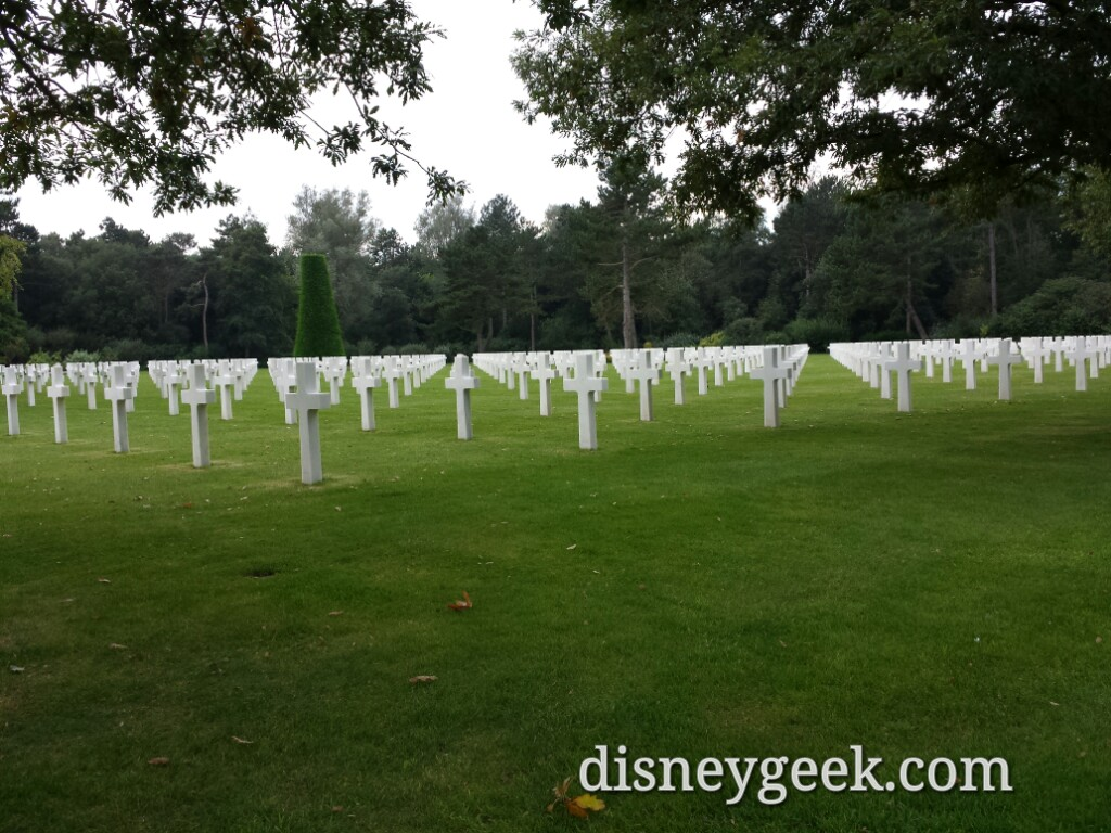 Another view of the American Cemetery in Normandy #France