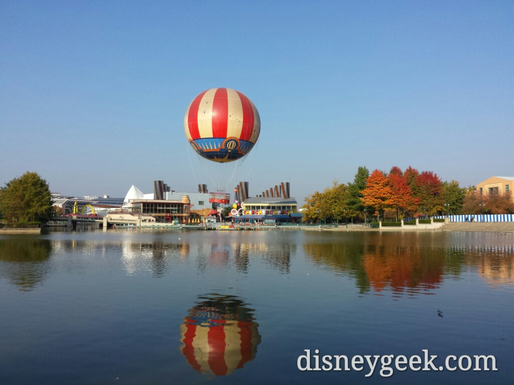 Disney Village around 10am as I head toward #DisneylandParis