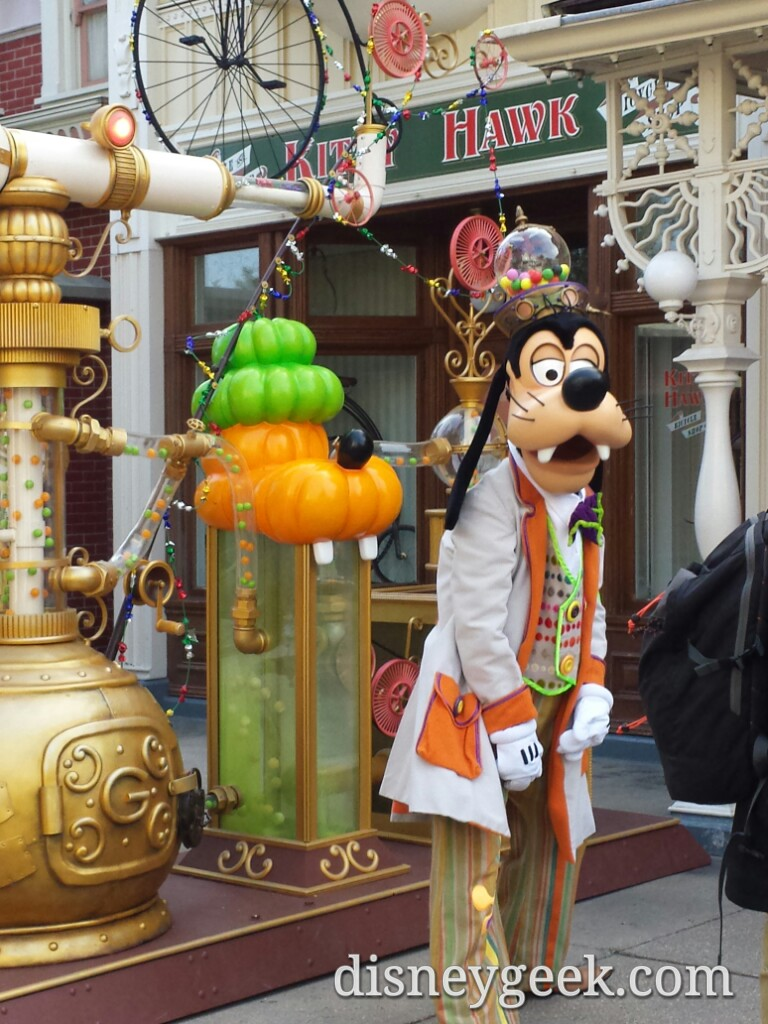 Goofy – Bonbons Dingo #Halloween #DisneylandParis