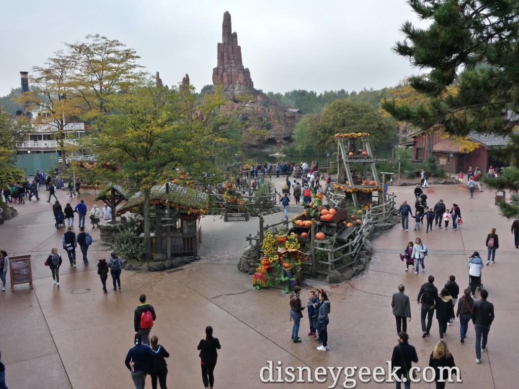 Frontierland from the fort #DisneylandParis