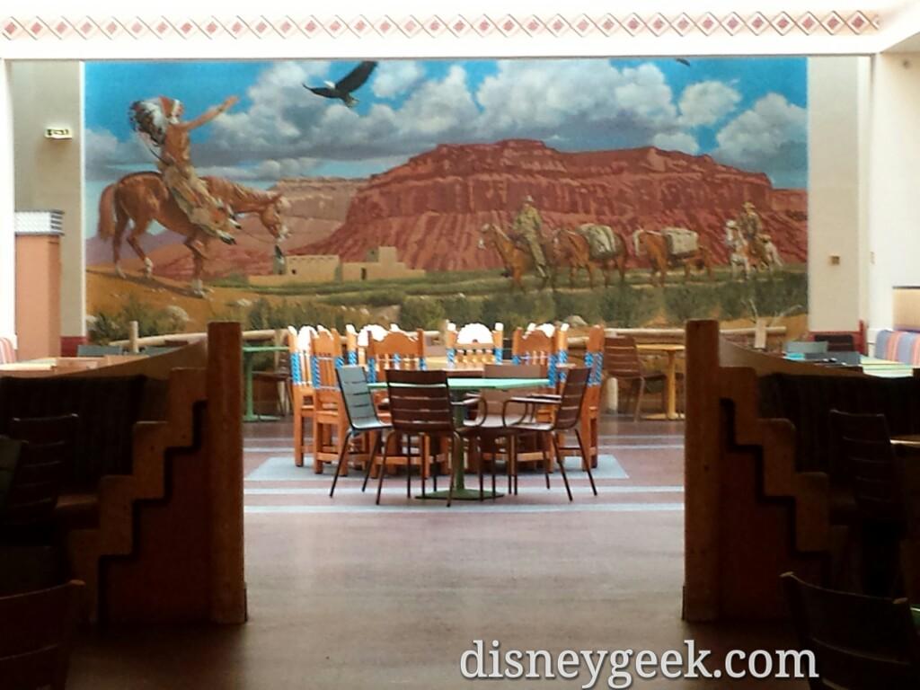 Hotel Santa Fe restaurant #DisneylandParis