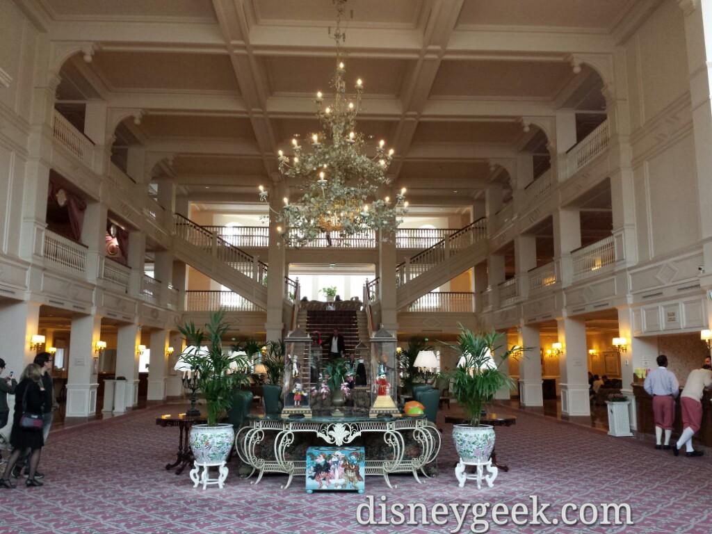 #DisneylandHotel lobby #DisneylandParis