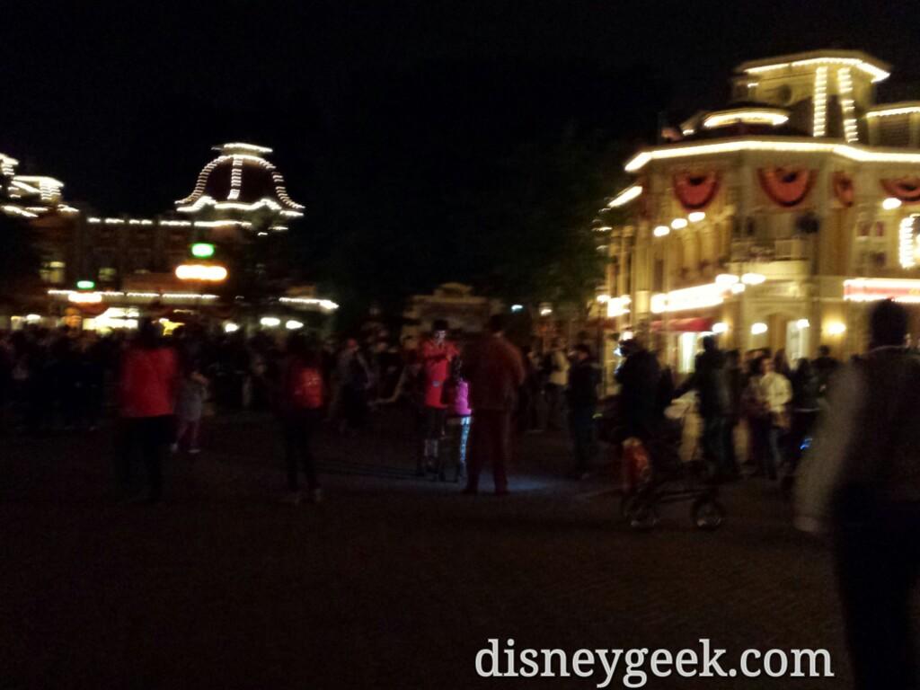 Others like Gaston were roaming Town Square #Halloween #DisneylandParis
