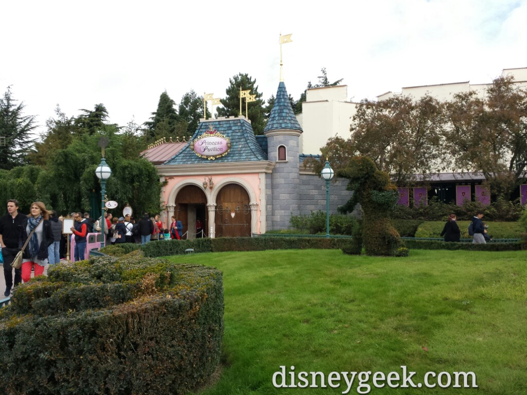 The Princess Pavilion reopened the other day #DisneylandParis