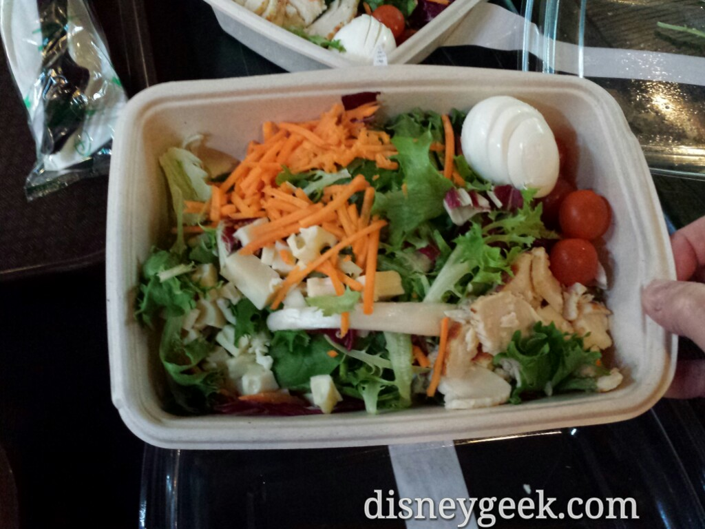 Cowboy Cookout chicken salad #DisneylandParis