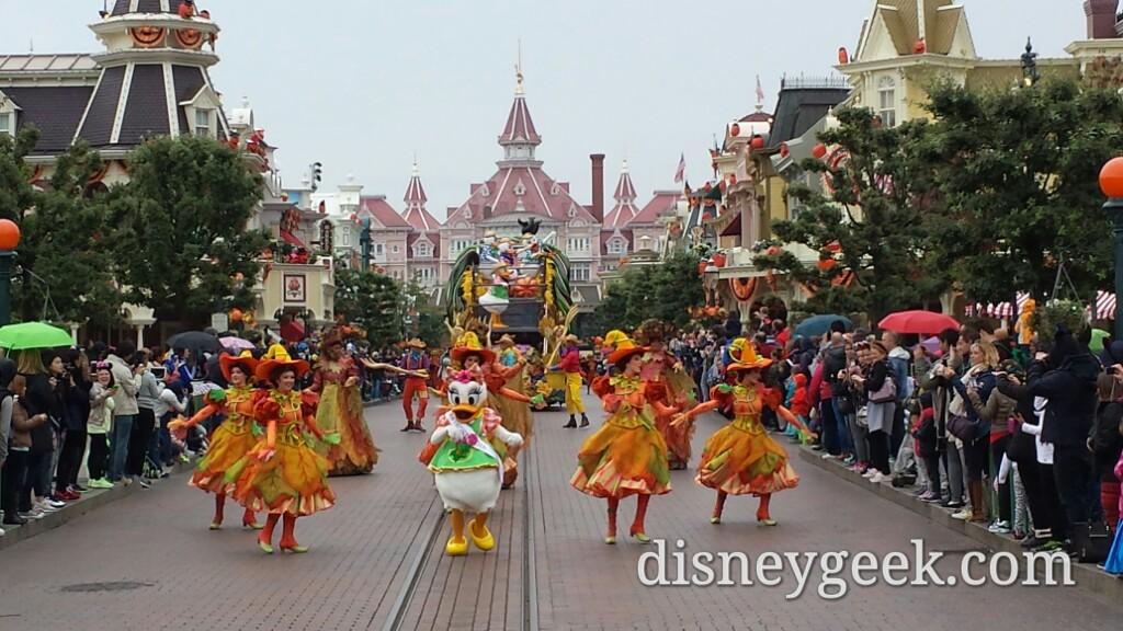 La Celebration Halloween de Mickey (Mickey's Halloween Celebration) on Main Street USA