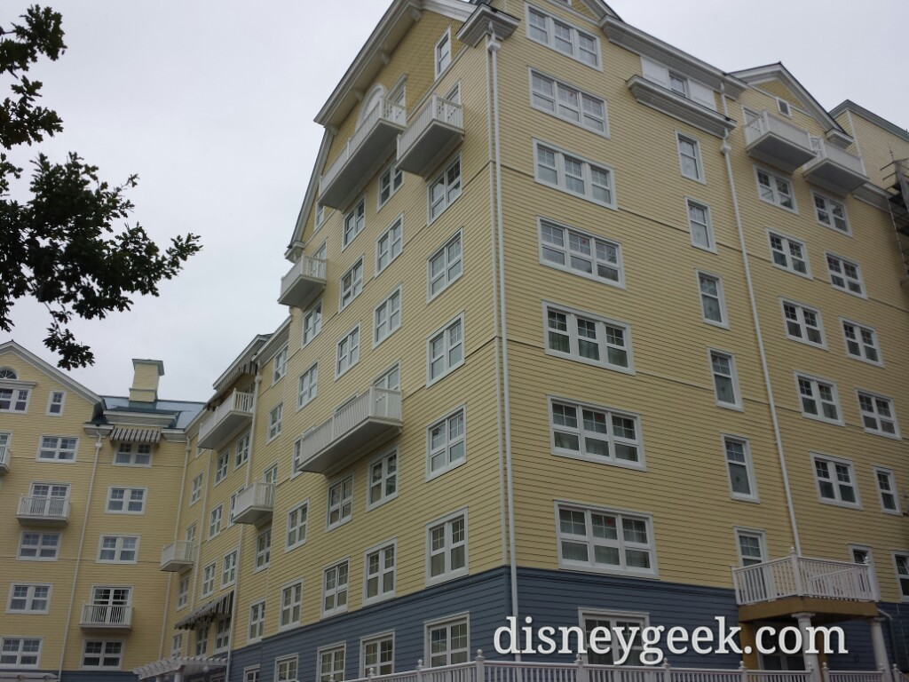 Finished exterior of Disney's Newport Bay Club #DisneylandParis