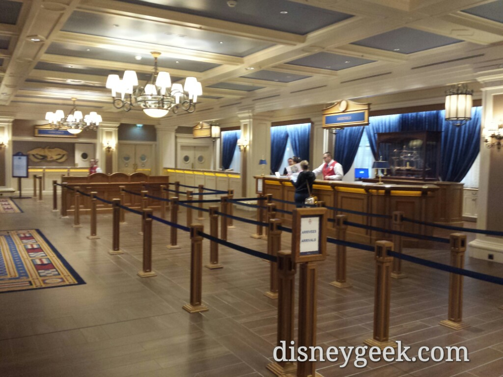 Disney's Newport Bay Club lobby #DisneylandParis