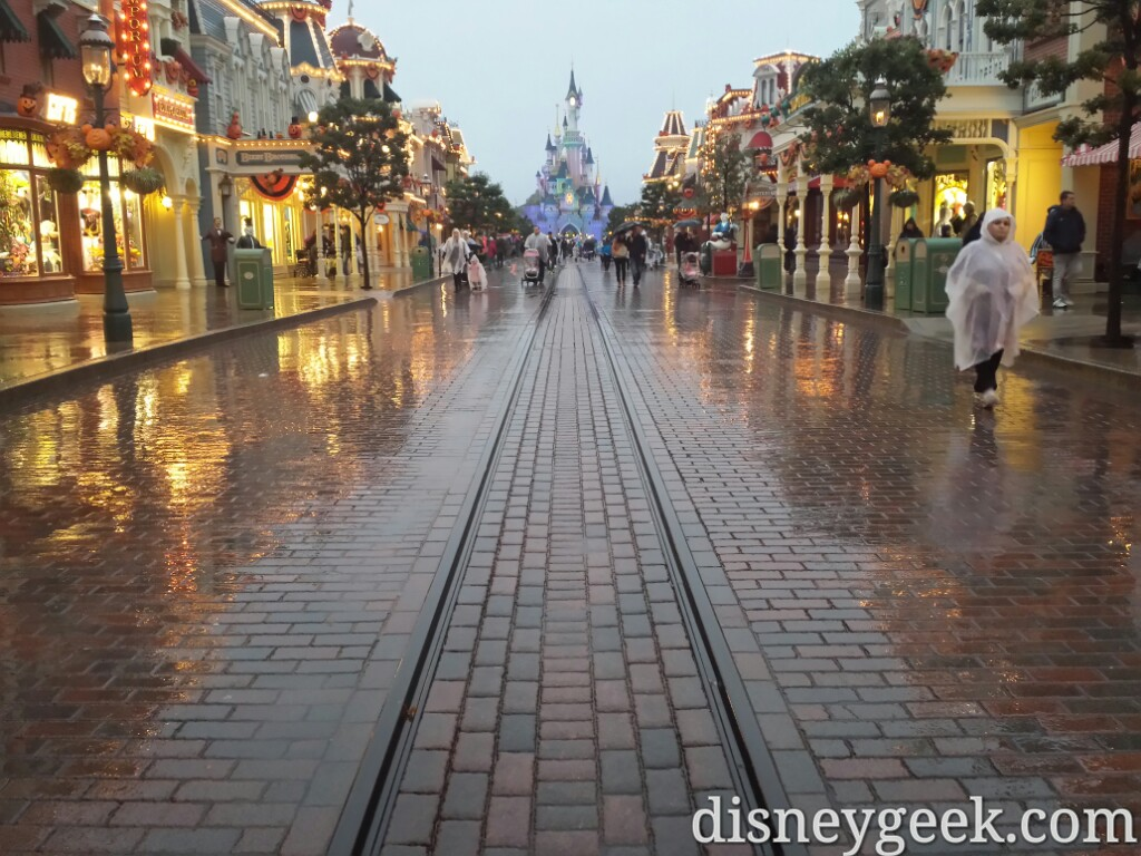 Main Street USA this evening #DisneylandParis