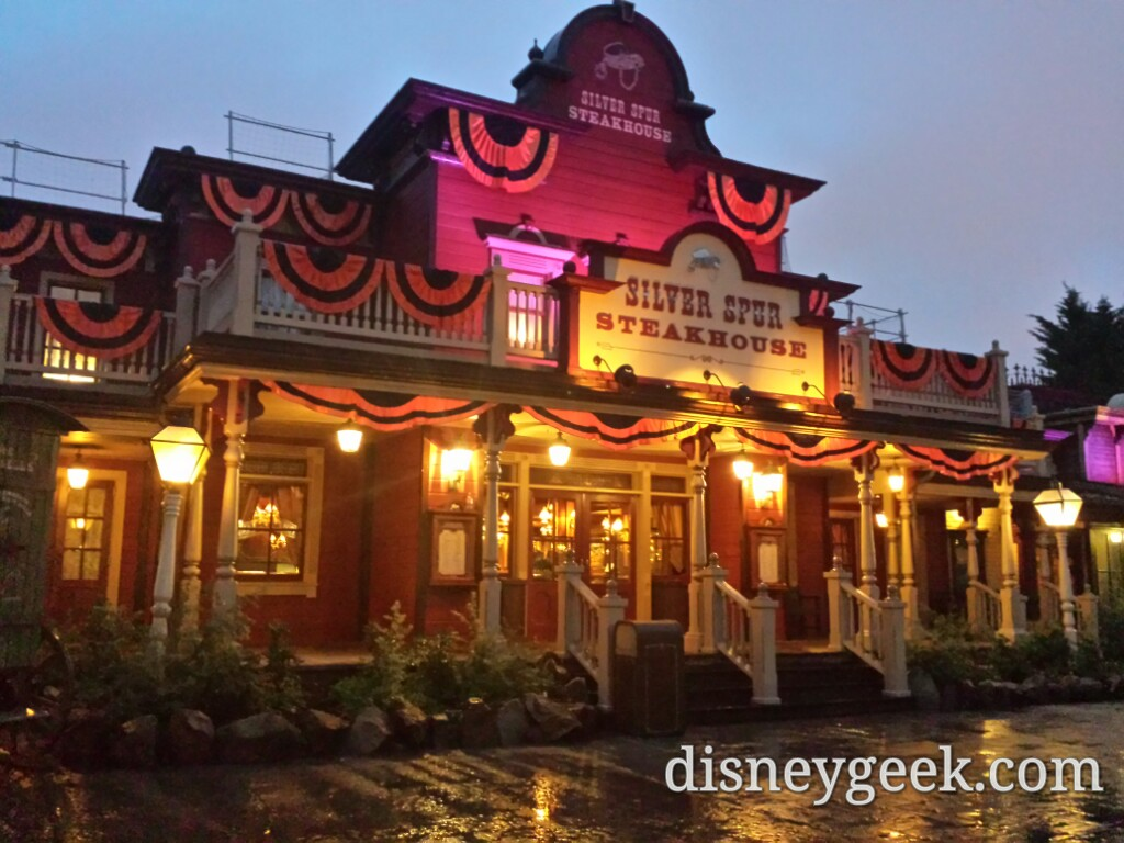 Silver Spur Steakhouse #DisneylandParis