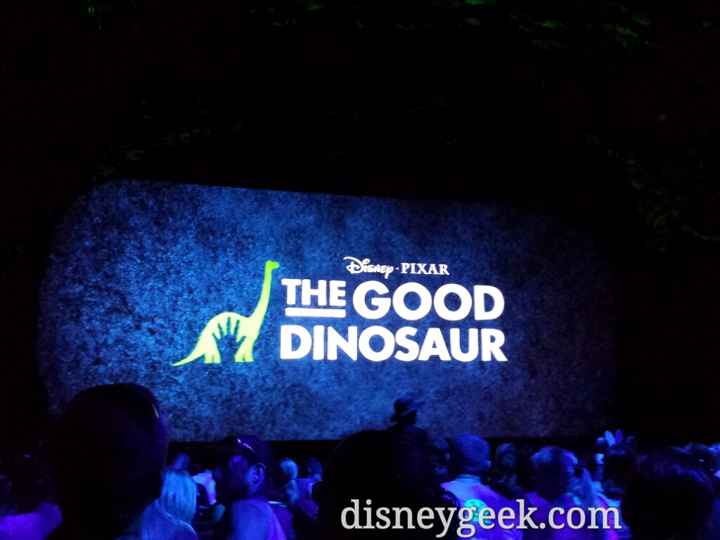 The Good Dinosaur preview is about 10 min and features a series of clips from the film
