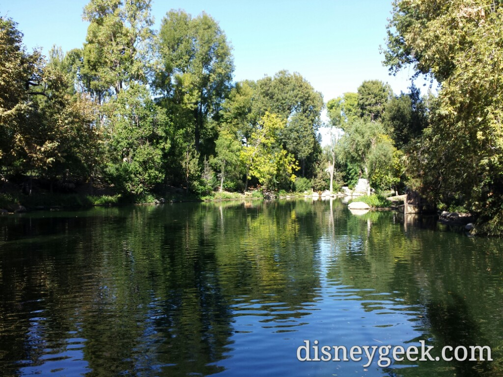 Went for an afternoon cruise on the Mark Twain #Disneyland