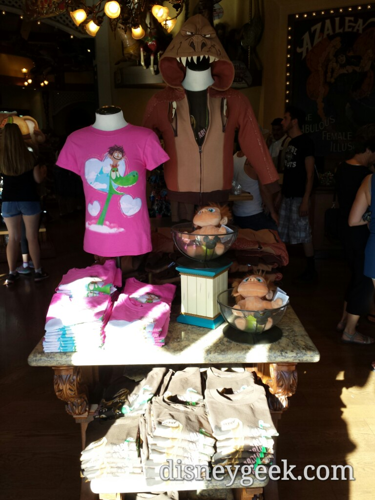 #GoodDino merchandise at Treasures in Paradise