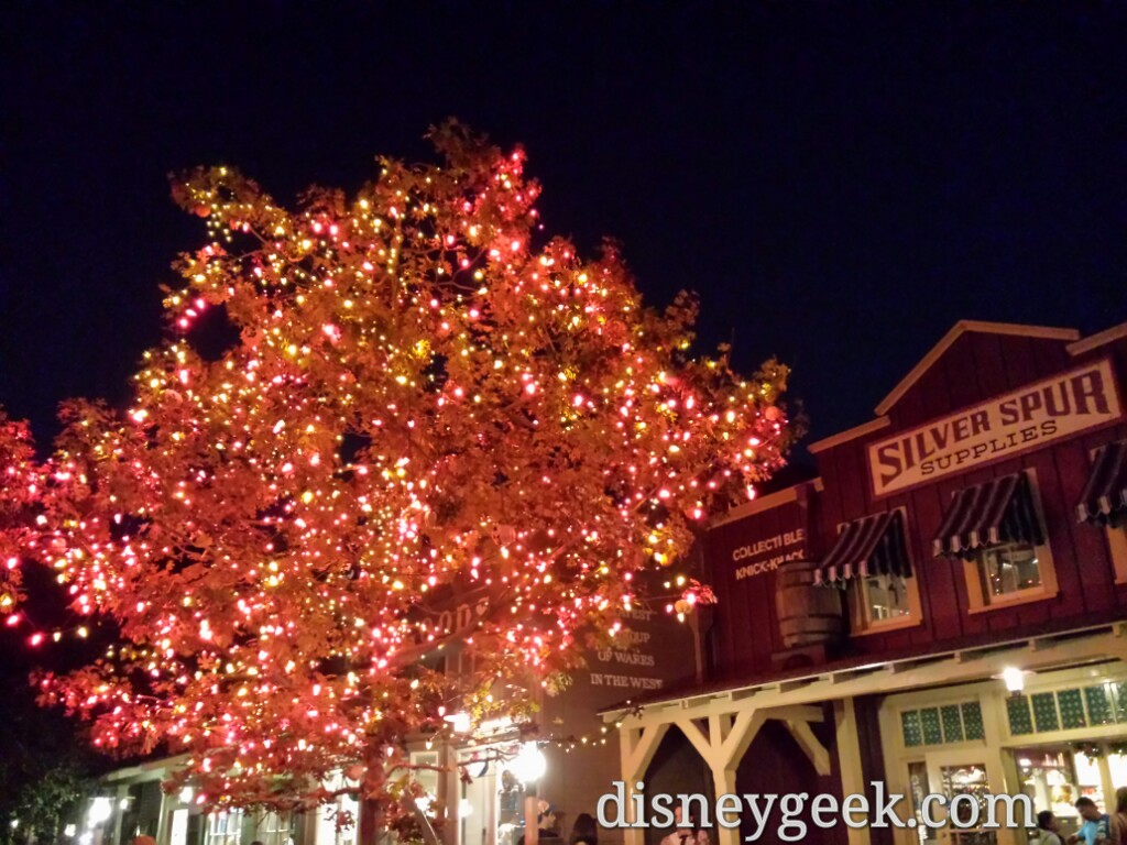 The #Halloween Tree in Frontierland #Disneyland