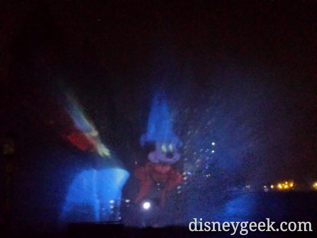 Watching #Fantasmic! Tonight #Disneyland