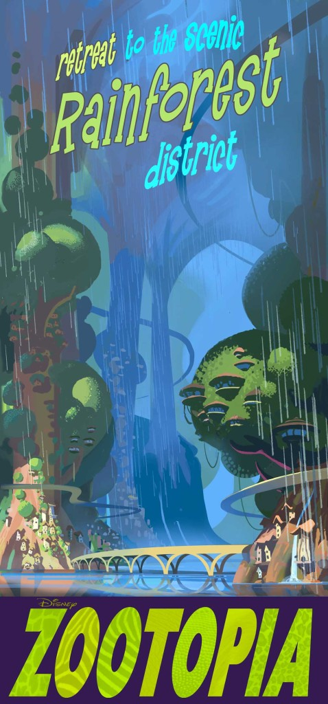 Zootopia - Poster - RainforestDistrict