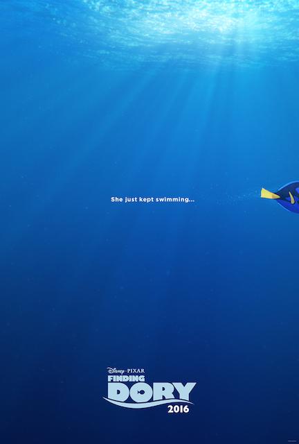 Finding Dory – Teaser Trailer & Poster