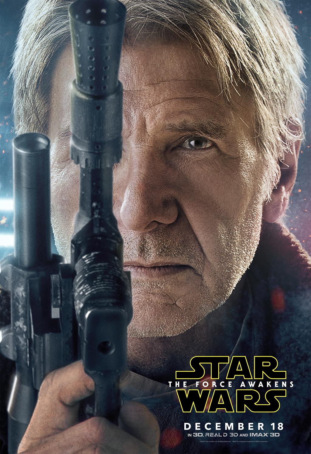 Star Wars: The Force Awakens – Character Posters (Disney Release)