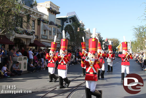 Toy Soldiers Marching By