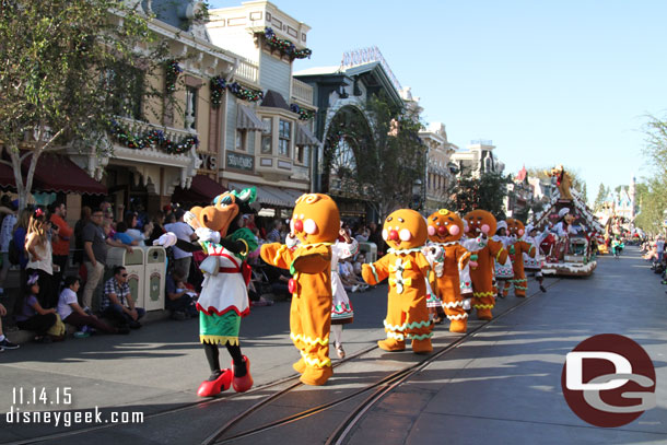 Clarabelle and Gingerbread people