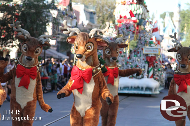 Santa's Reindeer only mean one thing...