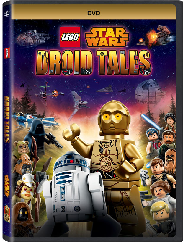 LEGO STAR WARS: Droid Tales on DVD March 1, 2016 (Daynah's Review)