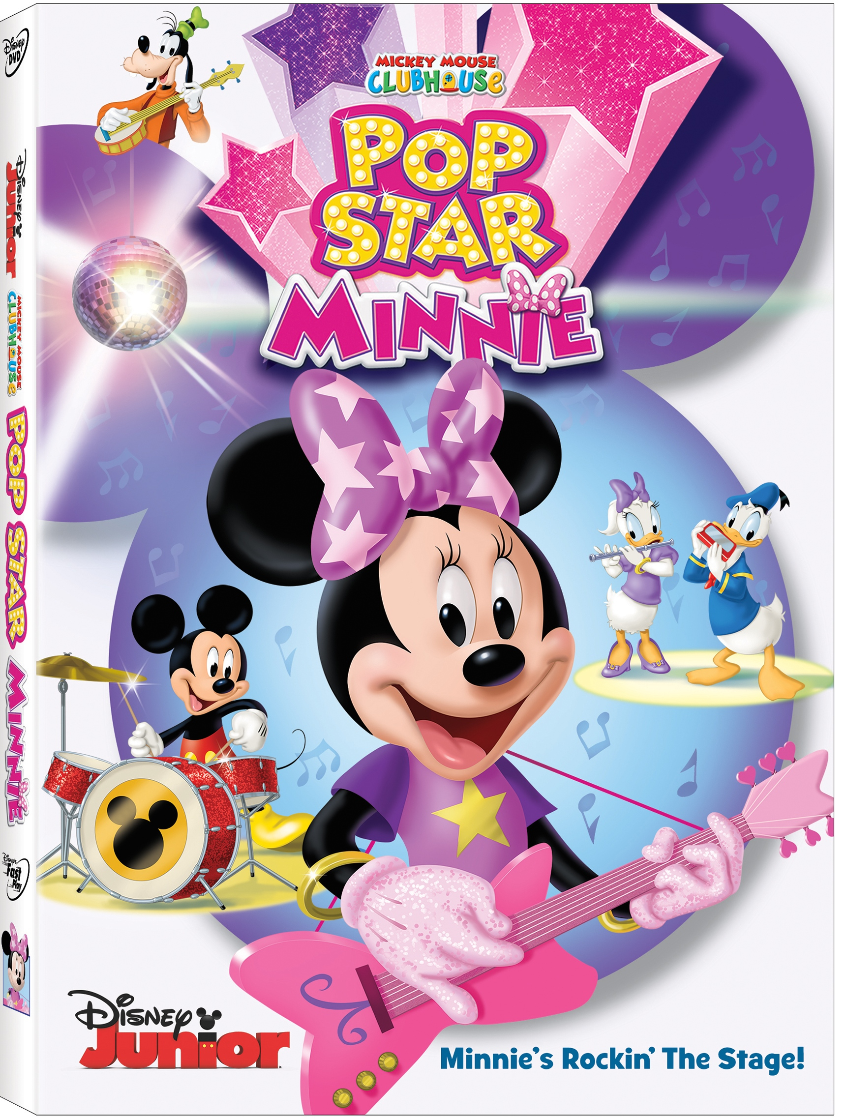 Upcoming DVD Release – Mickey Mouse Clubhouse: Pop Star Minnie – February 2, 2016