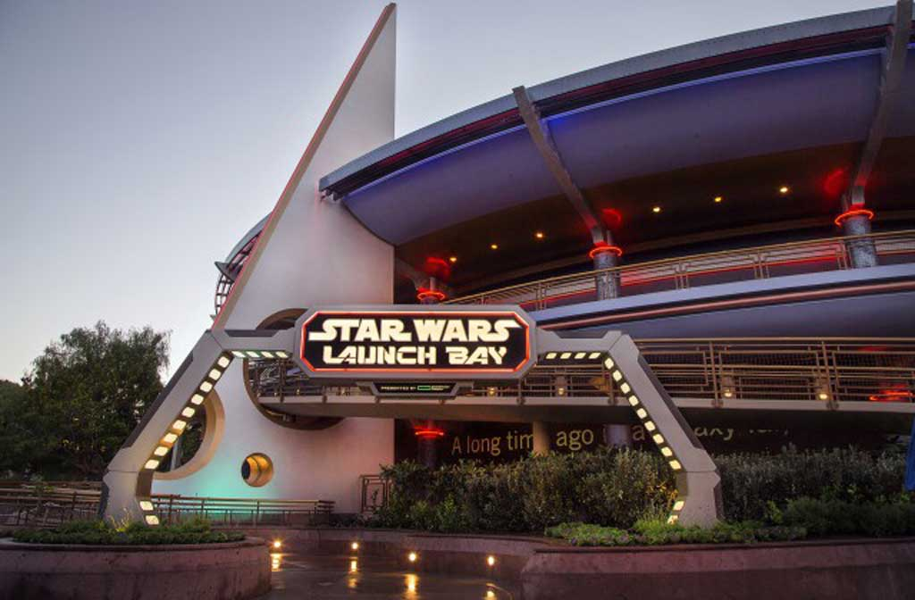 Star Wars Launch Bay at Disneyland (Disney Photos & News Release)