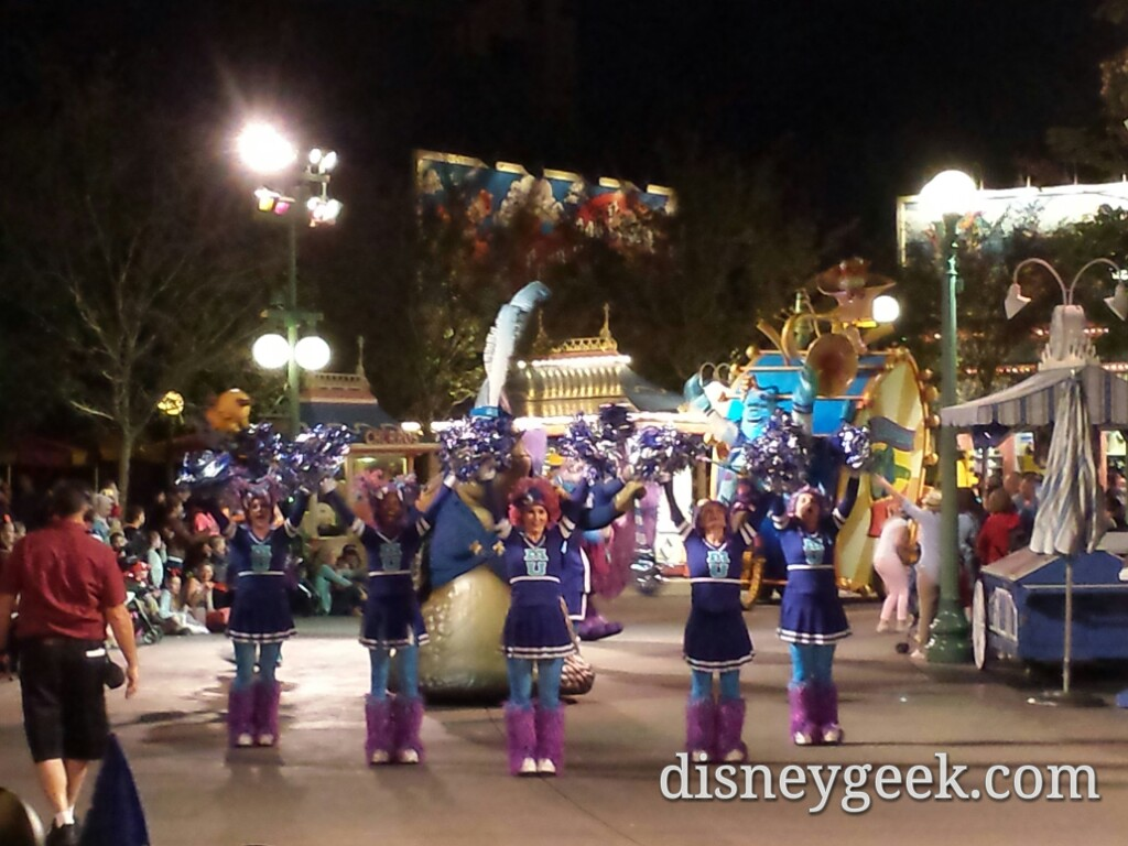 Pixar Play Parade in Paradise Pier at Disney California Adventure