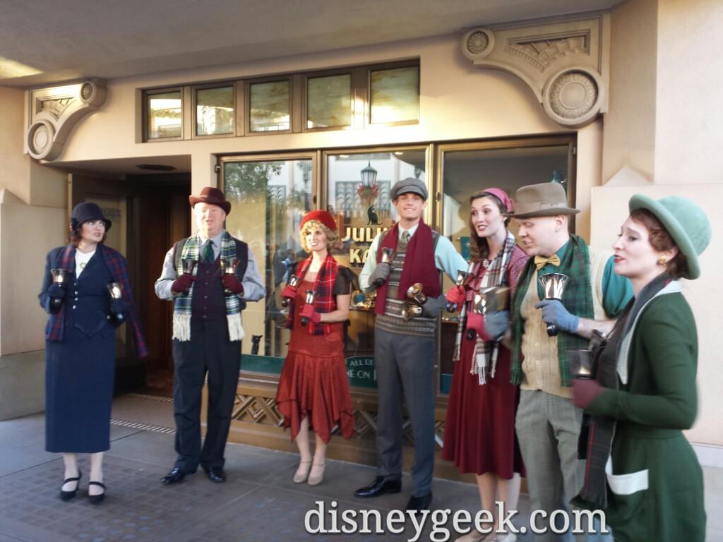 #BuenaVistaStreet Community Bell Ringers #DisneyHolidays