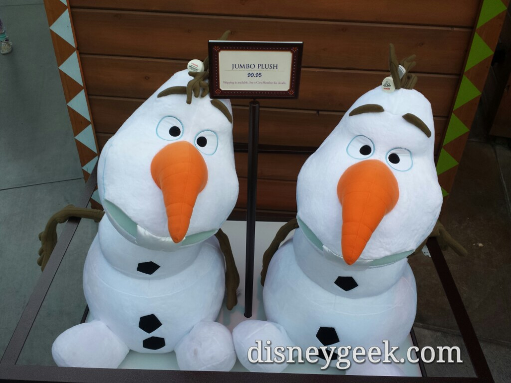 $100 Giant Olaf Plush at the Wandering Oaken